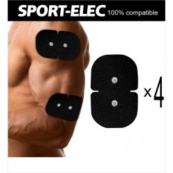 Set of 4 Double Electrodes...